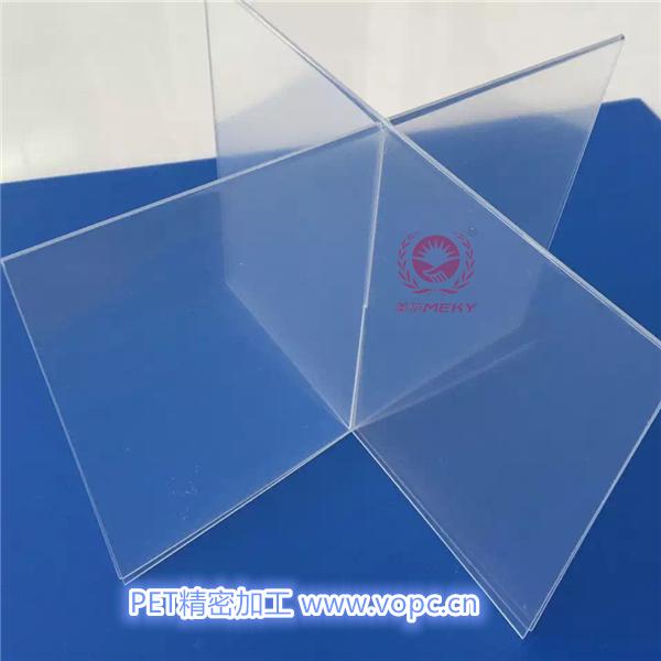 Pet transparent sheet