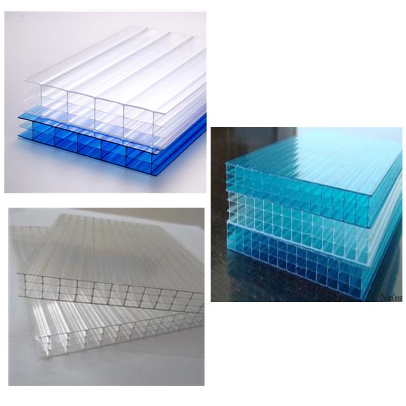 pc淺藍四層陽光板