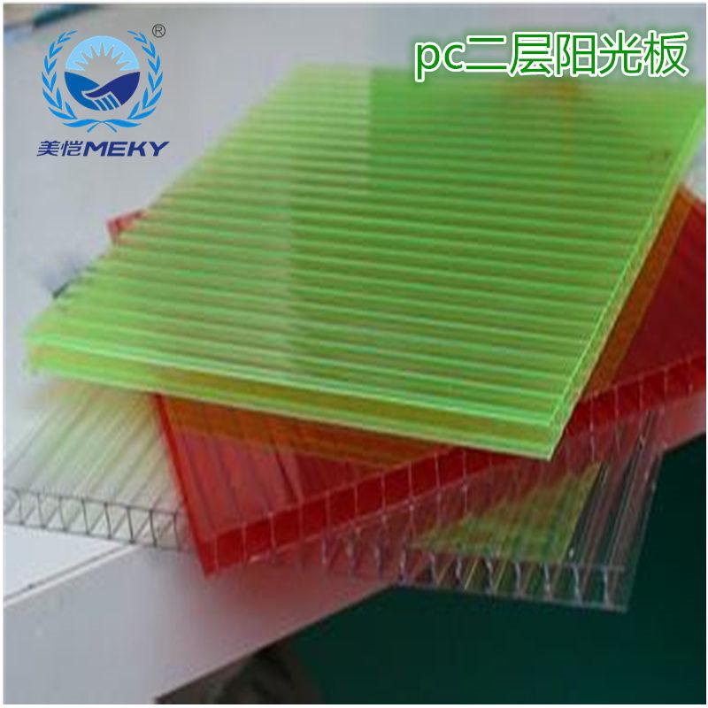 美愷塑膠分析陽光板市場