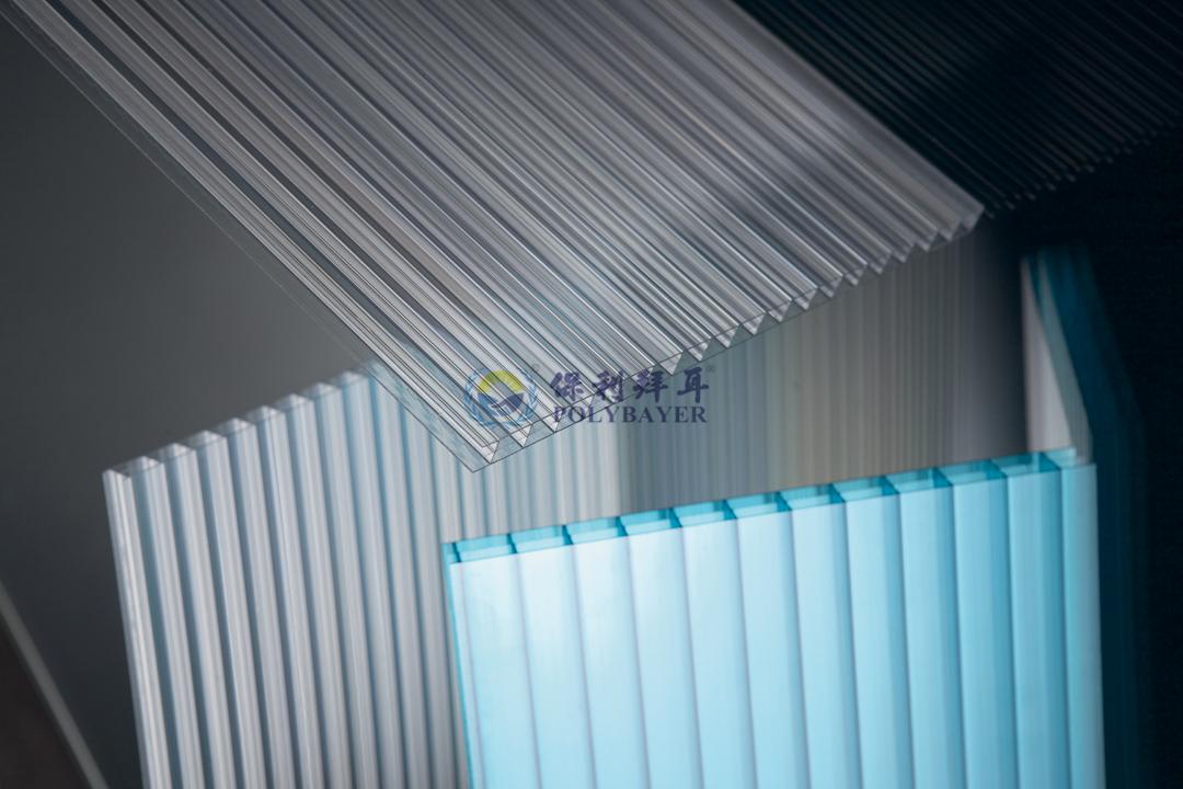 PC中空陽光板平板選型