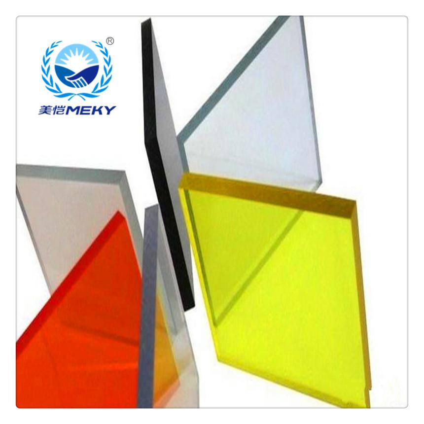 美恺耐力板:PC阳光板产品特性说明(en)