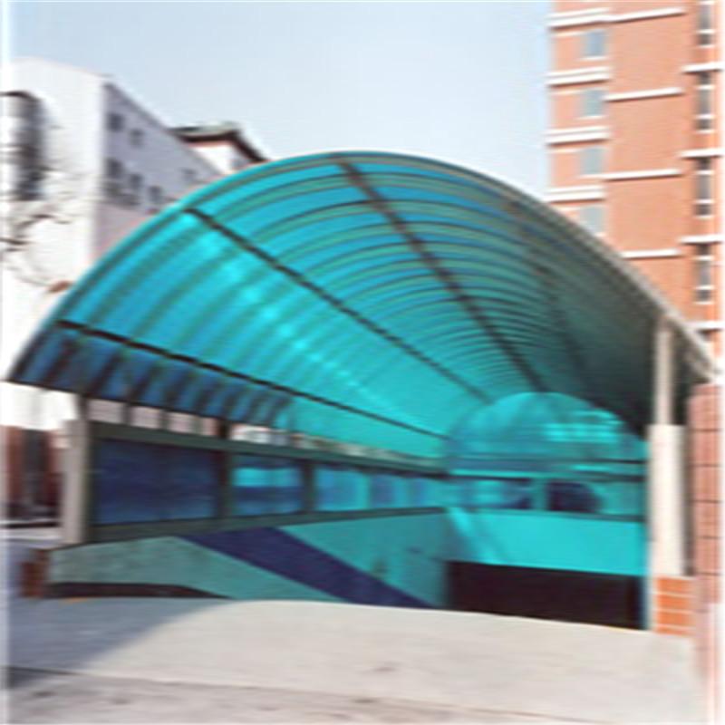 地庫放口陽光板雨棚