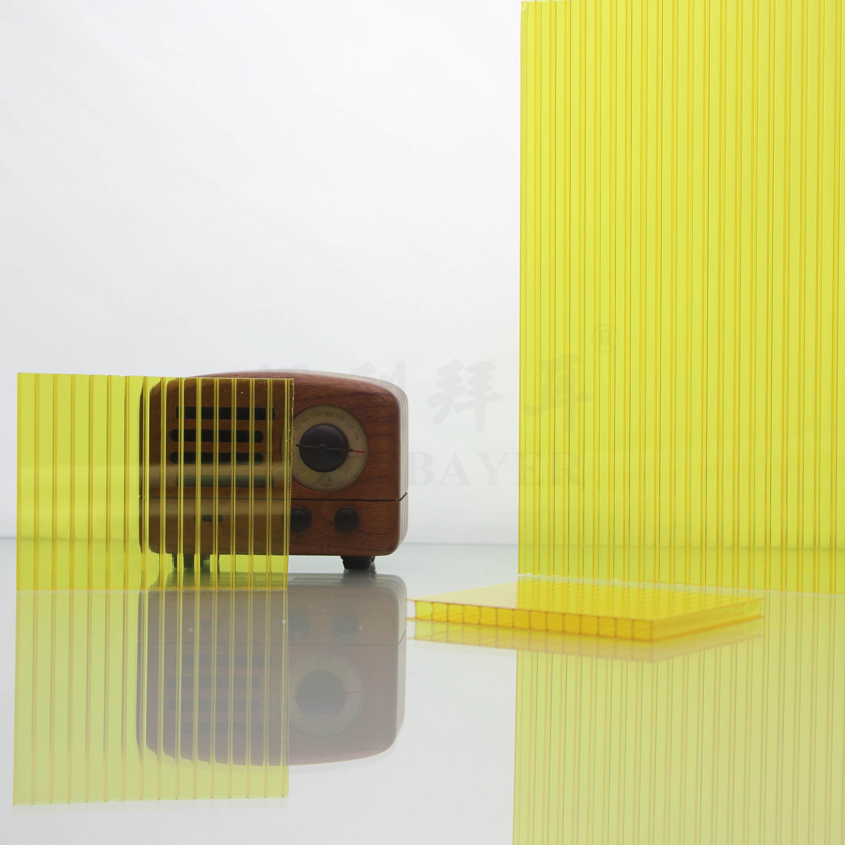 PC黃色陽光板